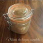 Crema de cacahuate