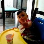 Patricio comiendo